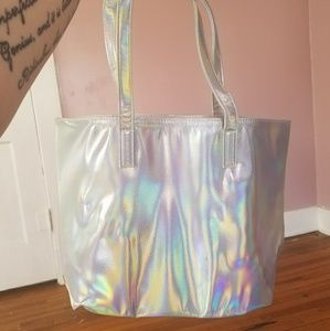 Handbags - Holographic Tote